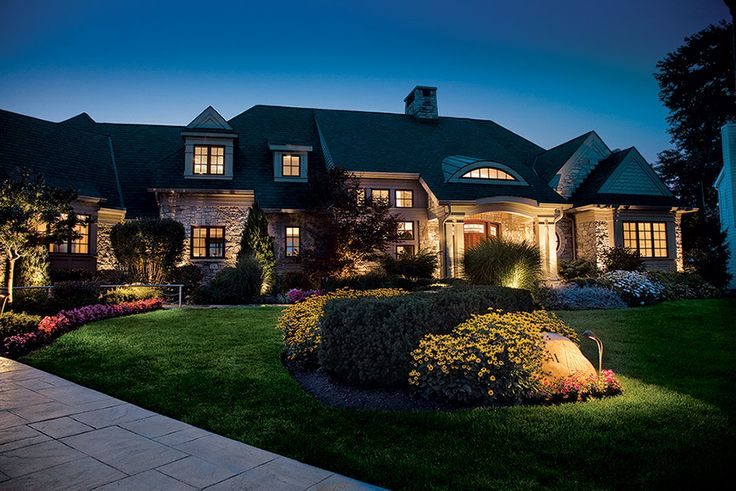 The Right Lighting Makes Your Yard Safe and Beautiful at Night