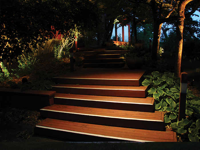 Lights for steps