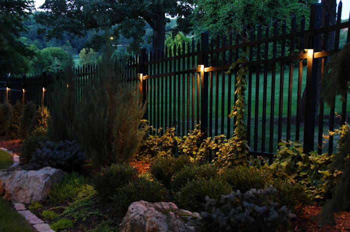 Lighting for shrubs touchstone accent lighting inc lighting for shrubs fence gardens when considering where to place outdoor aloadofball
