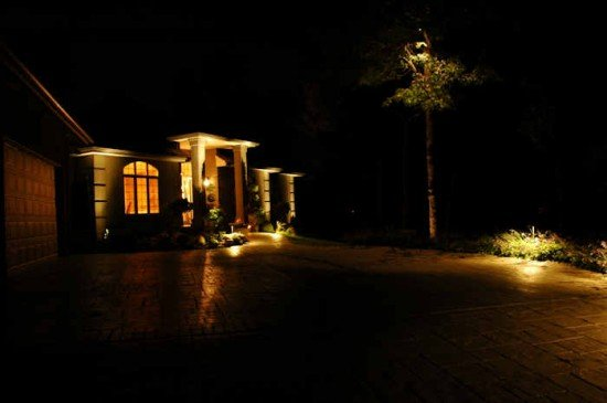 Lighting A Driveway With The Right Fixtures Touchstone Lights