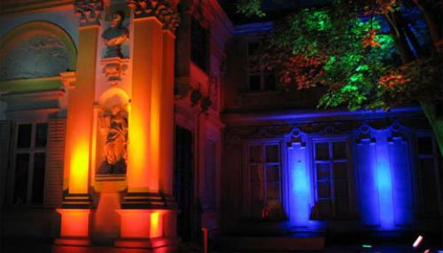 Decorate A Plaza With Landscape LED Lighting